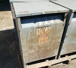 Square D 45t3h 45 Kva 480 208y 120 Volts 3 Phase Transformer