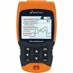 Bosch Actron Cp9690 Elite Autoscanner Code Scanner Kit 1996 Up Obd Ii And Can