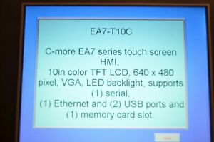 Automation Direct Ea7 t10c Operator Interface Touch Screen Hmi
