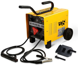 110v 220v Arc 250 Amp Welder Welding Carbon Steel Machine Small Large Projects