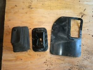 87 95 Jeep Yj Wrangler Oem Automatic Inner Outer Boot Shift Floor Plate Set