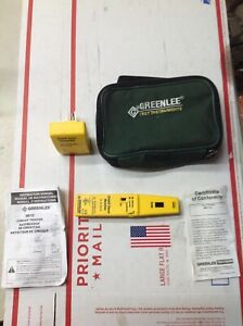Tested Greenlee 2012 Circuit Tester Tracer Transmitter And Receiver New Battery