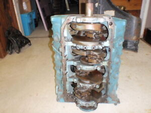1968 Firebird 400 Ho Wq Code Short Block Part 9790071 Local Pickup Only