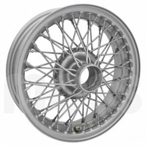 Coker Tire D461ptt 14x5 Dayton Wire 60 Spoke Painted Requires Tube Fits Mg b