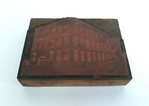 Vintage Engraved Copper Plate Frayn Printing Publishing Co Vine St Seattle