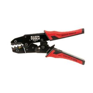 Klein Tools Ratcheting Crimper Insulated Terminal Wire Crimping Crimp Hand Tool