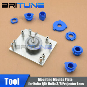 Headlight Tuning Tool Mounting Mould Plate For Hella G3 G5 D2s Q5 Projector Lens