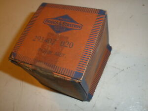 Vintage Nos Briggs Stratton Gas Engine 020 Over Piston Assembly 293407