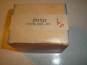 Vintage Nos Briggs Stratton Gas Engine Piston Assembly 291921