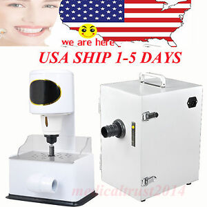 Dental Lab Dust Collector Vacuum Cleaner 370w Model Arch Trimmer Inner Grinder