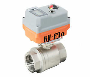 1 4 20ma 24vadc Cf8 Motorized Electrical Control Proportional Integral Valve