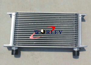Oil Cooler Universal 19 Row An 10an Universal Engine Transmission Oil Cooler