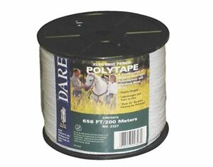 Dare 2327 Electric Fence Poly Tape White
