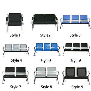 Airport Office Reception Waiting Room Chair Bank Guest Salon Barber 8 Style