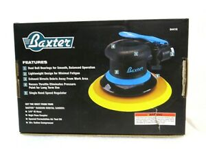 Baxter Professional 6 Non Vacuum Random Orbital Air Sander 64416 New Open Box