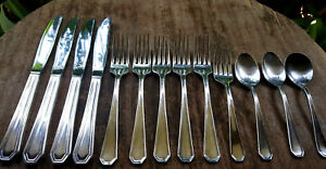 14pcs Vtg International Silver Co Silverplate Knives Forks Spoons