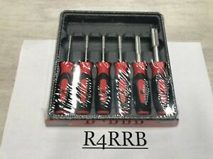 New Snap On Tools Usa 6pc Red Master Deutsch Terminal Release Tool Kit Sgdtt106