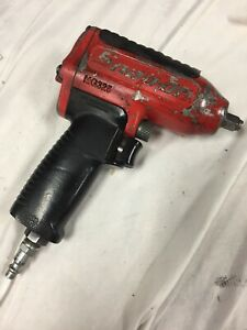 Snap On 3 8 Impact Wrench 90 Psig 6 2 Bar Max Mg325 Pneumatic Red
