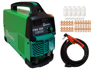 Plasma Cutter 60 Cons Simadre 50r 50 Amp 110 220v 1 2 Cut Power Torch