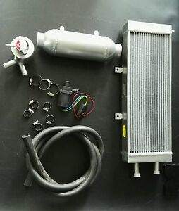 4 X 10 Water To Air Charge Cooler Intercooler Kit For Turbo And Supercharger