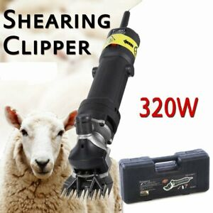 Proffesional 320w Sheep Goat Clipper Kit Electric Shearing Machine 110v Bs