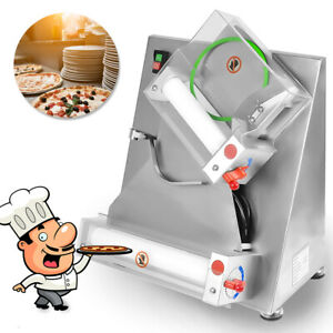 New 15 Inch Pizza Dough Pastry Manual Press Machine Roller Sheeter Pasta Maker