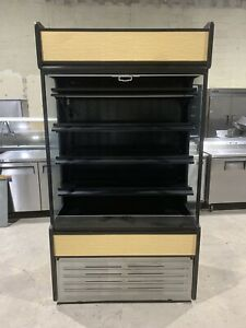 4 Ft Brand New Oasis Open Air Refrigerator Cooler Display Case