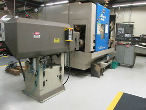 Hitachi Seiki Super Hicell 250 5 axis Cnc Mill Turn Cell W 19 68 turning Dia New