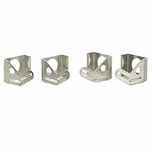 Be Cool Radiators 72069 Aluminum Mounting Brackets For Dual 13 Electric Fan