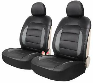 Leader Accessories Mustang Platimun 2 Sideless Leather Seat Covers Universal For