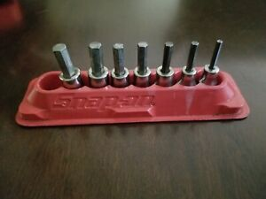 Snap On 3 8 Drive 4 10mm Hex Sockets Lot Of 7
