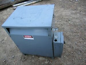 Square D Sorgel 3 Phase Transformer 30t3h