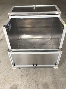 Beverage Air Stainless Steel Commercial Refrigerator And or Freezer Model Sm34n