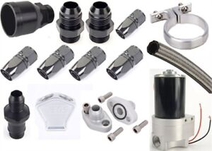 Jegs Performance Products 50952k1 Remote Water Pump Plumbing Kit Big Block Che