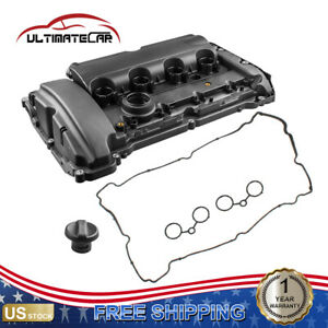 Engine Valve Cover W Gasket For 07 12 Mini Cooper S 1 6l Turbo Jcw 11127646555