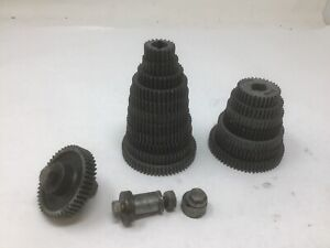 Craftsman Atlas Metal Lathe 101 618 6 Gear Set 20 64 Teeth 8 Gears