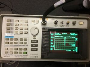 Hp Hewlett Packard 8592a Spectrum Analyzer 50 Khz 22 Ghz