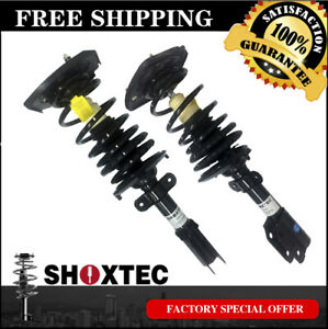 Rear Pair 2 Complete Strut Coil Spring Assembly Fits 00 09 Chevrolet Impala
