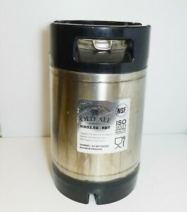 Homebrew Old Ale Supply Co 2 5 Gallon Keg Kms2 5g rbt needs In out Valves