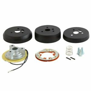 Black 3 Hole Steering Wheel Hub Adapter For Ford Models