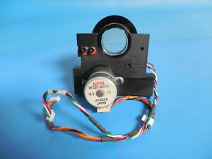 Motorized 1 Optical Mirror Mount W Double Npm 16 Tin Can Stepper Motors