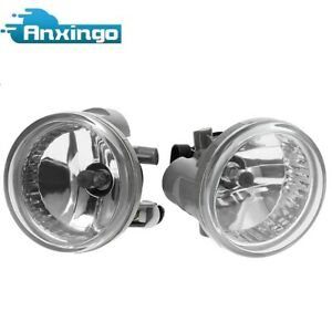 2 New Clear Bumper Driving Fog Lights For Toyota Highlander Echo Prius 04 07