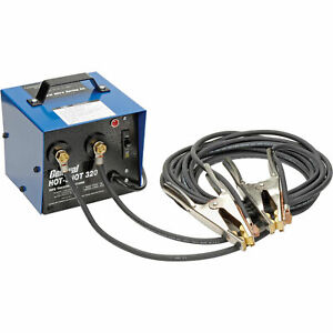 General Wire 320 Amp Hot shot 8482 Pipe Thawing Machine W 2 20 2 Cables