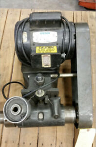 Dumore Tool Post Grinder 8205 210 With 12n 308 Internal Spindle