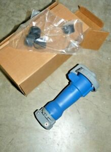 Hubbell Hbl316p6w Pin And Sleeve Plug Watertight Iec 309 Config New In Box