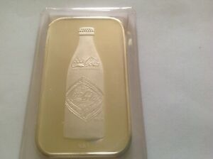 1975 .999 1 oz. Nashville Coca Cola Silver Bar