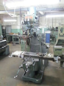 Lux Bridgeport Style 9 X 42 Table 8 Speed 2hp Head Milling Machine New 1980