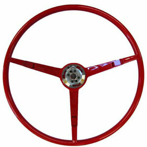 Golden Star Wl20 65r Steering Wheel 1965 Ford Mustang Red Finish