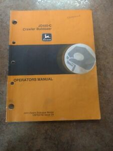 John Deere 450 c Bulldozer Operators Manual