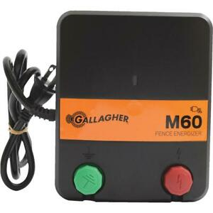 Gallagher M60 Electric Fence Charger 1 Each